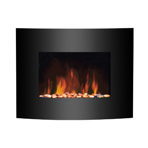 Home Heating Shop Electric Fire Reviews. wall mounted Glass fronted fire