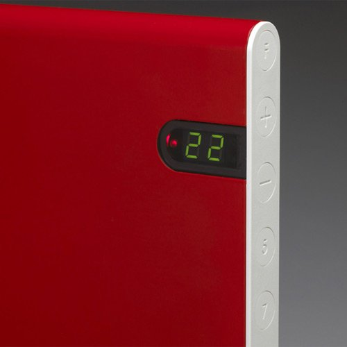 Adax Convector heaters review. Adax NEO display and control panel