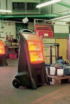 Home Heating Shop Radiant Heater Reviews Birchwood Rhino TQ3 in situ
