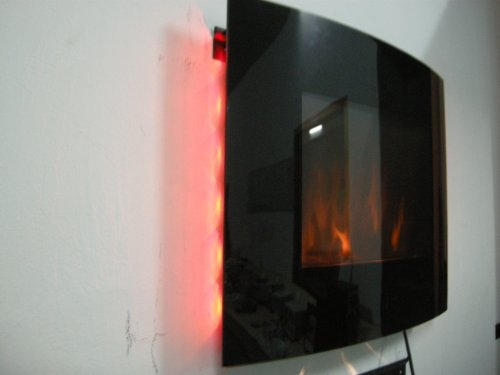 Home Heating Shop Electric fire reviews wall mounted multicolour heater