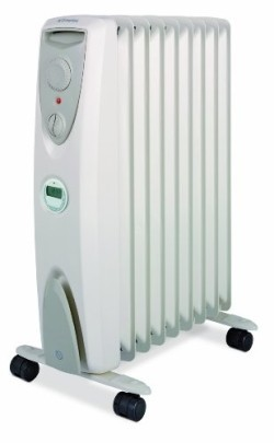 home heating shop oil filled radiator reviews Dimplex air filled radiator
