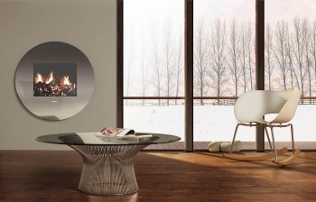 electric fire dimplex living art