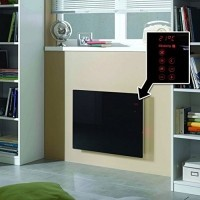 home heating shop panel heaters reviews Olsberg Orayonne glass panel heater