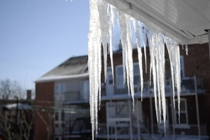 keeping warm with the home heating shop icicles