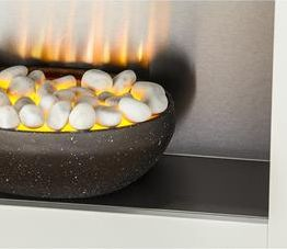 Home Heating Shop Electric fire reviews Dimplex Cheriton adam cubist pebble bed