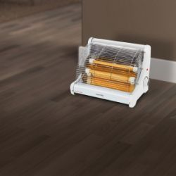 Home Heating Shop radiant electric heater reviews Warmlite 2 bar heater in situ