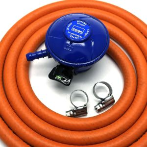 Portable heater safety  New 21mm Butane hose and regulator