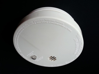 Portable heater safety - smoke detector