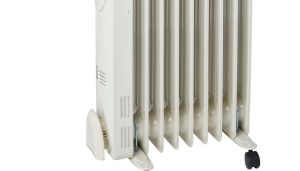 Cheap Electric Heaters B&Q 2kw oil filled radiator, under £50 with a 2 year guarantee