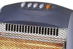 Home Heating Shop Radiant Fire Reviews Warmlite 1600 halogen heater controls