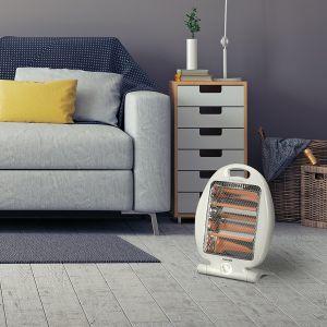 Home Heating Shop Radiant Fire Reviews Warmlite 800watt folding halogen heater