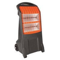 Home Heating Shop Radiant Heater Reviews The Birchwood Rhino infra red quartz heater