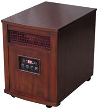 Home Heating Shop Radiant Heater Reviews  Comfort Glow quartz heater