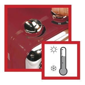 Home Heating Shop fan Heater Reviews Honeywell HZ-510E controls
