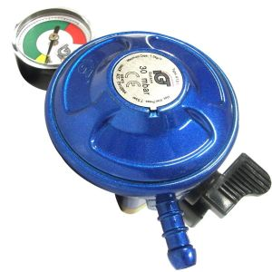 Calor Gas butane regulator with  bottle level gauge
