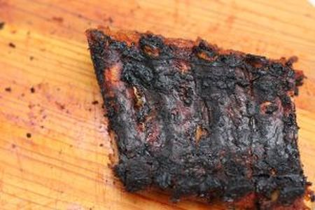 Summer Barbecues with The Home Heating Shop burnt meat