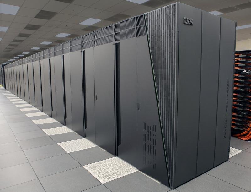 homr heating shop blue gene supercomputer