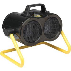 Fan heater reviews the Dimplex DXTT3 has 2 x 1.5Kw  output