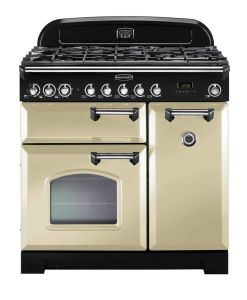 Calor gas appliances Rangemaster dual fuel range cooker