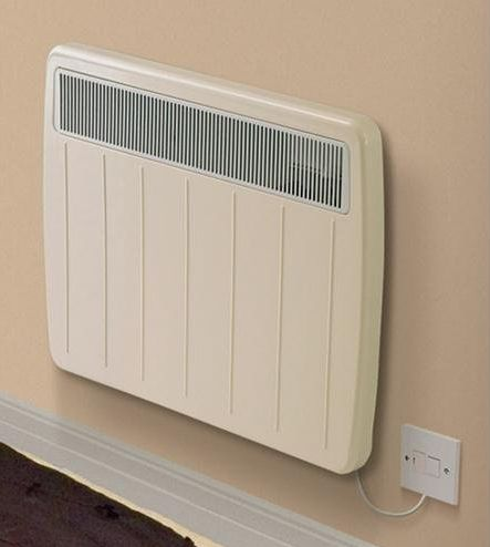 Home Heating Shop Dimplex PLX1500TI Ultra Slim Panel Convector fitted to a wall