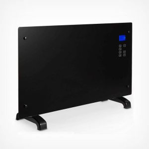 home heating shop convector heater reviews VonHaus 2kW glass fronted convector heater