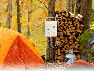 Calor gas appliances calor gas powered outdoor shower