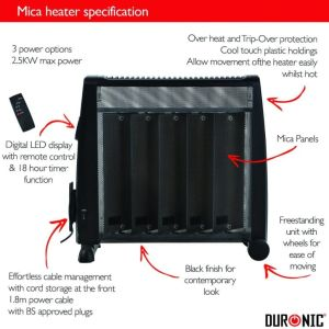 Portable electric heater guide -link