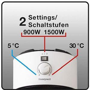 Home Heating Shop Fan Heater Reviews Honeywell round Fan Heater controls