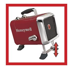 Home Heating Shop Fan Heater Reviews Honeywell 1.8Kw Heavy Duty fan Heater legs