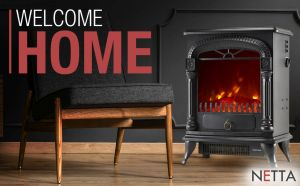 Home Heating Shop Electric Fire Reviews Netta electric stove type fire