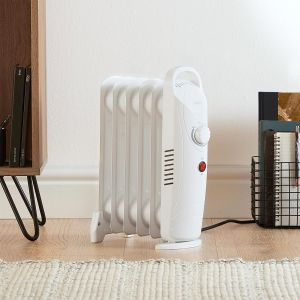 Home Heating shop Reviews VonHaus Mini Oil Filled Radiator in situ